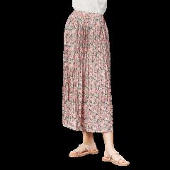 GeleiStory/GeleiStory女士半身裙中长款女夏高腰a字裙飘逸中长裙图片