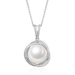 CLORIS/克劳瑞斯【新品】时尚女神款耳环 、项链 珍珠粒径10-11mm、12-13mm 首饰 礼物图片