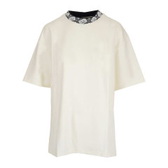 ACNE STUDIOS/ACNE STUDIOS 20年秋冬 百搭 女性 白色 女士短袖T恤 CL0072OPTIC WHITE图片