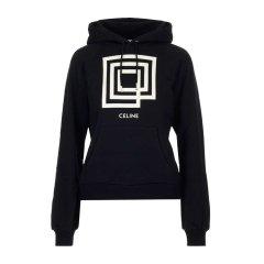 【20秋冬】CELINE/赛琳  女士黑色棉质卫衣 2Y006612G-38AW图片