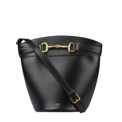 CELINE/赛琳  水桶包 女士黑色单肩包 192073BUT.38NO图片