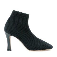 CELINE/赛琳  女士黑色羊毛高跟鞋 325362DSB32DSB.38NO图片