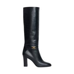CELINE/赛琳  女士黑色小牛皮高筒靴 333853194C38NO38NO图片