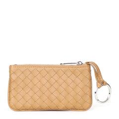 【包邮包税】Bottega Veneta/葆蝶家 女士羊皮经典编织零钱包图片