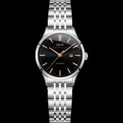 I&W CARNIVAL HWGUOJI/爱沃驰全自动机械表手表IW女士手表时尚防水女表钢带简约气质图片