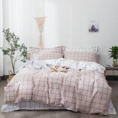 2020新品 全棉四件套 环保活性印花不掉色 清新田园风床上用品被套床单4件套 ROYALROSE LITERIE图片
