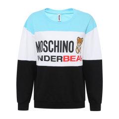 MOSCHINO/莫斯奇诺2020新款时尚拼色经典小熊女卫衣A17299012图片
