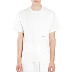 AMBUSH/AMBUSH 20秋冬 男装 服装 白色棉质宽松简约 男士短袖T恤图片