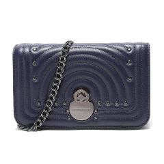 Longchamp/珑骧 棕色/海军蓝两款可选 链条包经典专柜款皮质女士单肩包  L4559 HNA 016图片