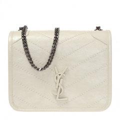 【包邮包税】SAINT LAURENT PARIS 圣罗兰 NIKI WOC 20春夏  女士牛皮经典LOGO徽标格纹链条单肩包斜挎包图片