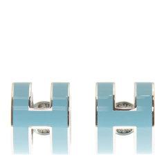 Hermès 爱马仕 女士金属H字母耳饰耳钉图片