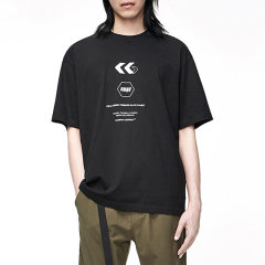 MOCO男装品牌COMMONGENDER/COMMONGENDER2020秋季新品男士短袖T恤宽松印花短袖休闲上衣T恤潮流图片