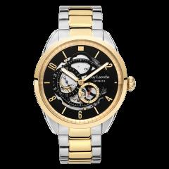 Guy Laroche/姬龙雪手表 Vigueur系列男表 法国男士手表 镂空机械表钢带时尚 手表男图片