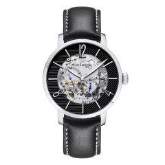 Guy Laroche/姬龙雪手表 Insaisissable系列男表 法国男士手表 镂空机械表钢带时尚 手表男图片