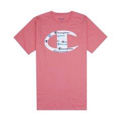 """【包税】Champion/冠军  胸前大""""C""""logo配色印花圆领短袖T恤   GT23H-Y08128图片"""