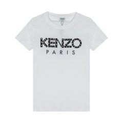 【包税】KENZO/高田贤三   女士圆领贴布绣Ikat图案纹理经典LOGOT恤  FA52TS701990图片