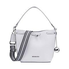 【包税】Michael Kors/迈克·科尔斯 MK女包 女士单肩斜挎手提包 35S0GXEM2T白色图片