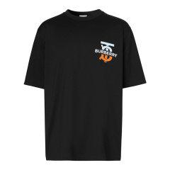 BURBERRY/博柏利 20年秋冬 百搭 男性 黑色 男士短袖T恤 8032185图片