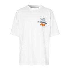 BURBERRY/博柏利 20年秋冬 百搭 男性 白色 男士短袖T恤 8032186图片