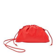 【包税】Bottega Veneta/葆蝶家 女士纯色牛皮磁性按扣可拆卸肩带单肩包手拿包女包 585852-VCP40 多色可选图片