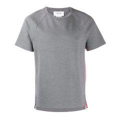 THOM BROWNE/THOM BROWNE侧边条纹短袖 T 恤男士短袖T恤图片