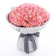 花礼/嫁给我吧/红玫瑰花108枝七夕情人节求婚表白生日礼物鲜花/当日达图片