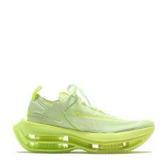 新款Nike Zoom Double Stacked 黑黄 荧光绿 双层气垫 超强缓震 情侣跑步鞋CI0804-001-700图片
