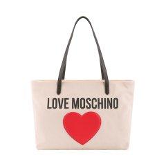 【包邮包税】MOSCHINO/莫斯奇诺   女士桃心印花单肩手提托特包  JC4330PP07KV图片