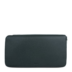 BALLY/巴利 男士牛皮拉链款牛皮革钱包手拿包图片