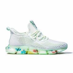 VBT 男鞋夏季透气2020新款百搭白鞋跑步网鞋男网面运动休闲鞋子男潮鞋图片