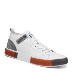 VBT 新款休闲板鞋 男鞋 拼接撞色 头层牛皮中帮板鞋 运动休闲鞋图片