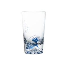 神奈川冲浪里玻璃杯宽口杯窄口杯图片