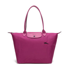 【国内现货】Longchamp/珑骧 女士LEPLIAGECLUB系列大号织物长柄可折叠手提单肩包购物袋饺子包1899619图片
