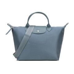 Longchamp/珑骧2020秋冬女士LEPLIAGENEO系列织物短柄手提单肩斜挎包饺子包1515598图片