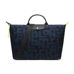 【国内现货】Longchamp/珑骧 女士LE PLIAGE LGP系列字母图案织物大号手提单肩包旅行袋 1624 413图片