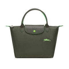 【国内现货】Longchamp/珑骧  女士LEPLIAGECLUB系列小号织物短柄可折叠手提包饺子包 1621 619图片