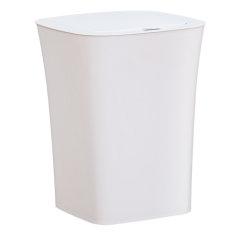 防水智能感应垃圾桶  卧室客厅厨房浴室卫生间方形分类带盖清洁桶 (方形11月下旬发货)(送垃圾袋))图片