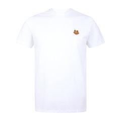 【20秋冬新款】KENZO/高田贤三  男士小虎头刺绣图案棉质圆领短袖T恤衫图片