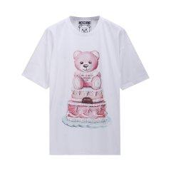【包税】MOSCHINO/莫斯奇诺 女士蛋糕泰迪熊短袖TEEDV07025440图片