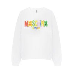 【包邮包税】MOSCHINO/莫斯奇诺 女士橡皮糖泰迪熊套头卫衣   2 T 1704 2111图片