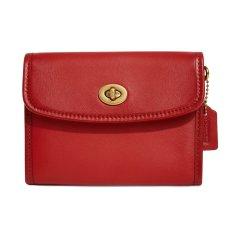 COACH/蔻驰 【国内现货】 ORIGINALS系列新品 红色方形皮质女士钱包带卡位手拿包单肩斜跨包 311红色 U图片
