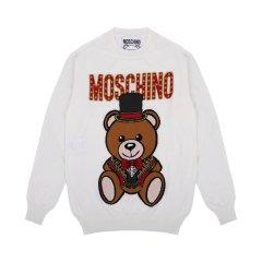 【包邮包税】MOSCHINO/莫斯奇诺女士时尚印花马戏团魔术熊毛衫 E T0901 0506图片