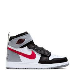 Nike/耐克 Air Jordan 1 男女同款 AJ1 灰红 拉链魔术贴 GS情侣 休闲鞋 篮球鞋 CQ3835-002/CT4897-002图片