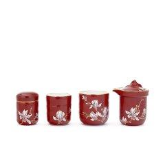 Miracle Dynasty/玛戈隆特 行云系列一壶两杯便携旅行茶具 6头功夫茶具套装家用图片