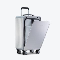 TUPLUS/途加 即刻S铝镁合金20寸行李箱男带刹车旅行箱女USB接口登机箱图片