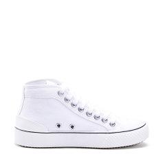 澳洲Auspecial高帮帆布鞋女厚底2020秋季新款百搭滑板鞋AU3094图片