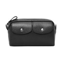 Longchamp/珑骧 新品 黑色/粉色/红色/海军蓝色经典皮质钱包 L3430 021 018图片