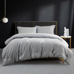 Downia 床上用品 被子被芯 色纺绒纤维春秋被/冬被 灰色图片
