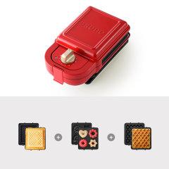 bruno史努比日本轻食机机早餐机家用多功能三明治华夫饼烤面包机图片