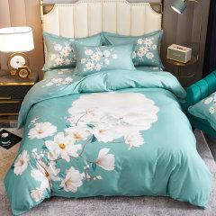 秋冬保暖全棉生态磨毛四件套 环保活性印染不掉色被套床单4件套 ROYALROSE LITERIE图片